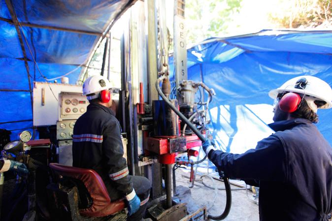 Sivas Civarında Metalik Hammadde Araştırma Sondajları